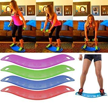 KKMall 100 Kg Support Abs Legs Back Shoulders Ankle Body Waist Core Simply Workout Weight Loss, Workout Balancing Tool, Weight Capacity – 100 Kg