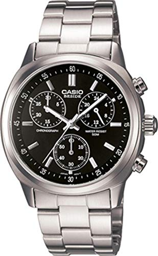 Casio Collection Herren-Chronograph Beside Armbanduhr # bem-502d-1av