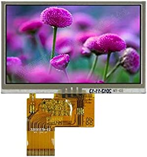 """Tool Parts Winstar display WF43GTIAEDNT0 LCD full color TFT module 480 x 272 RGB 4.3"""" Resistive Touch Panel Color LCD Module"""