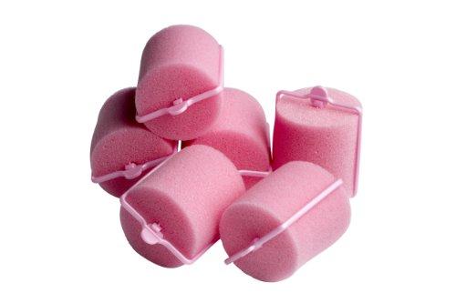 BaByliss - 6 bigodini, per posa notturna, colore: rosa