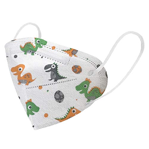 Koippimel Face_Mask for Kids, Cute Cartoon Printed_Disposable Face_Masks, 5-Ply Non-Woven, 10/20/50pcs, 0217_46