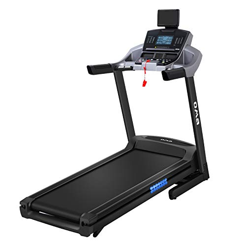 OMA 5925CAI Folding Treadmill for Home with 3.0 HP Motor 15% Incline Exercise Treadmill for Running - 300 LB Weight Capacity