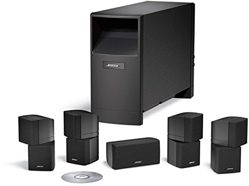 Bose ® Sistema de altavoces Home Cinema Acoustimass ® 10, color negro