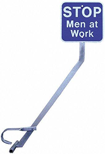 Railhead Clamp, w/Men Working Sign