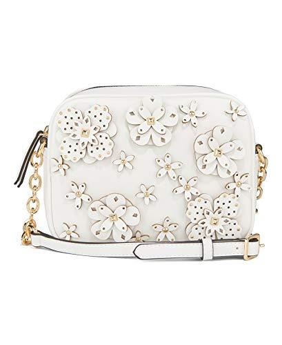 Nine West 3D Floral Camera Bag, White