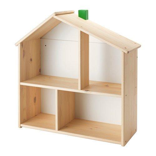 IKEA FLISAT Puppenhaus/Wandregal aus Massivholz
