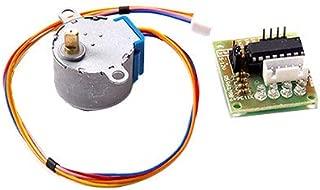 Engranado Paso Motor 28BYJ-48 ULN2003 5V del Motor de Pasos + ULN2003 Junta de Controlador para Arduino