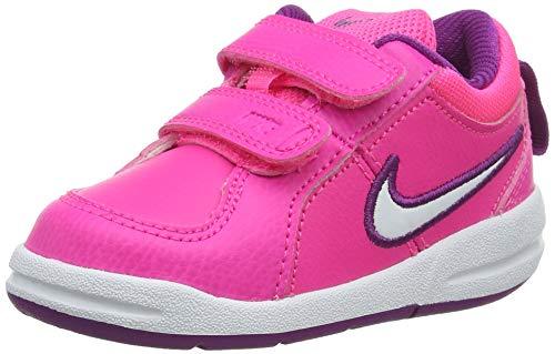 Nike Unisex-Kinder PICO 4 (TDV) Tennisschuhe, Rosa (Pink Pow/White/Bold Berry 606), 23.5 EU