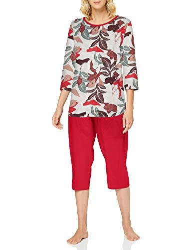 CALIDA Damen Late Summer Dreams Pyjamaset, Barberry red, S
