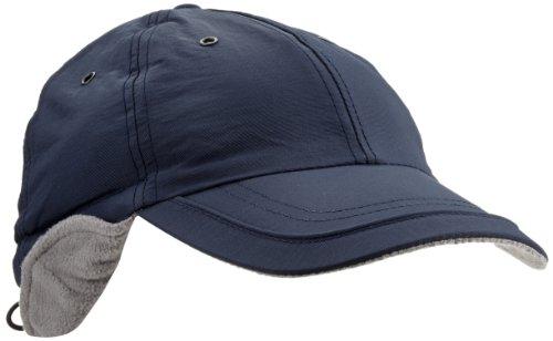 Casquette Techno Earflap avec Teflon baseball cap protege-oreille (taille unique - bleu)