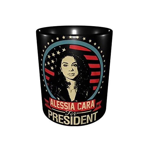 Hdadwy Ales=Sia+Cara Two-Color Ceramic Fashion Mug Coffee Cup Tea Cup Office Student 330ml