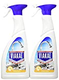 Viakal Spray Anticalcare Detersivo Spray per Cucina, 2 bottiglie da 700 ml, Adatto per Acc...