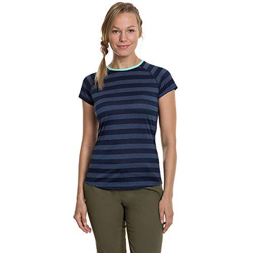 Berghaus UK T-Shirt à Manches Courtes pour Femme Rayures 2.0 XL Crépuscule/Vintage Indigo