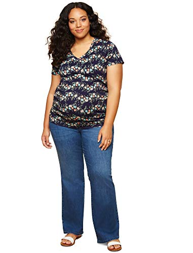 Motherhood Plus Size Secret Fit Belly Boot Cut Maternity Jeans