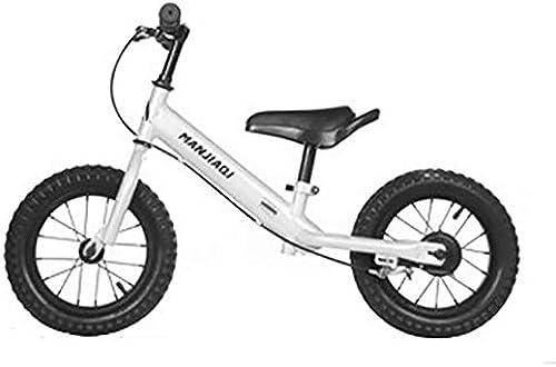 Balance fürrad Kinder Laufrad, Aluminiumlegierung Jungen mädchen Laufen Gehen Training fürrad - Verstellbarer Sitz - 2-6 Jahre - SchwarzRosa Weiß