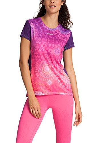 Desigual Sport - Camiseta, Color Rosa, Talla S