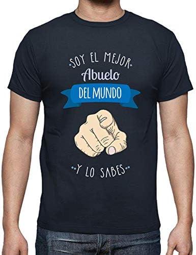 Camiseta Mejor Abuelo del Mundo - Camiseta Hombre clásica