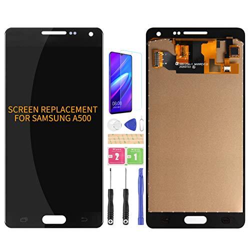 Per Samsung Galaxy A5 2015 A500 A500F A500M A500FU LCD Screen Ricambio Digitalizzatore Vetro Kit di Assemblaggio?Free Pellicola Temperata, colla e strumenti