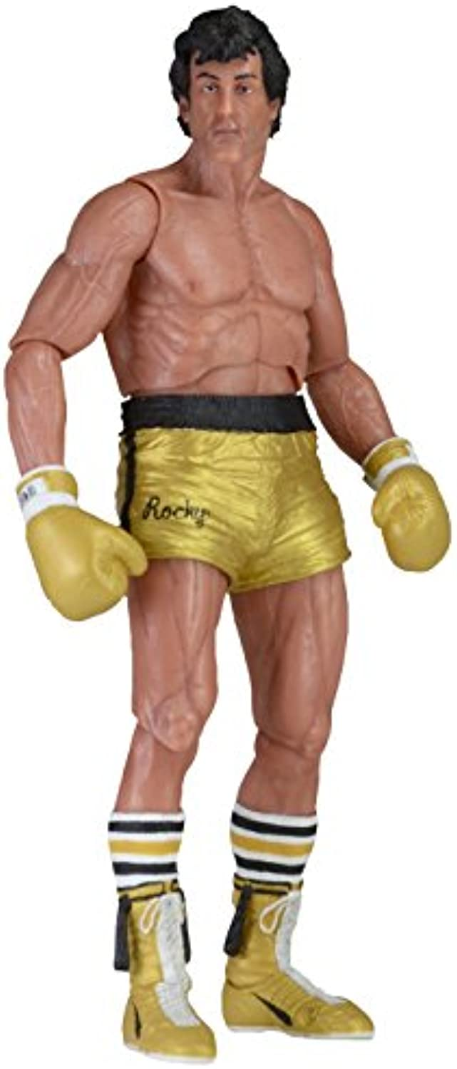 ROCKY 40TH ANNIV ROCKY 3 ROCKY Gold TRUNK ACTIONFIGUR