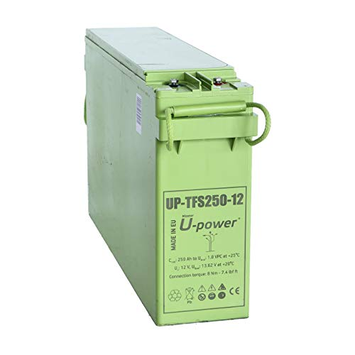 Master U-Power Batería Solar, AGM TFS 250AH 12V, FTS, UP-TFS250-12
