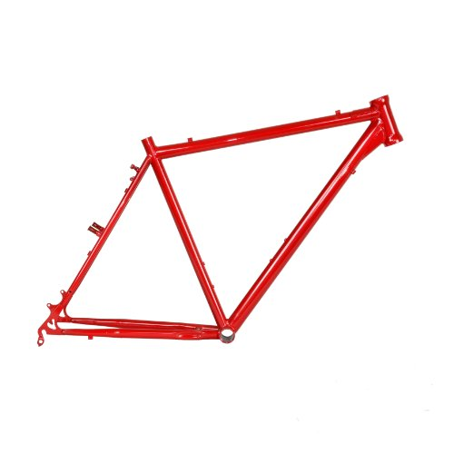 Cycle Force Cro-mo Cyclocross Frame, 60cm/X-Large, Red