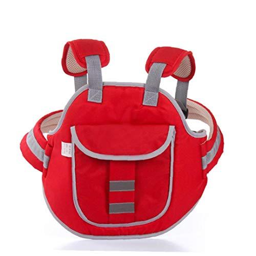 BYFRI 1pc Red Adjustable Kinder Motorrad-sicherheits-sicherheitsgurt-Elektro-Fahrzeug Fahrrad-Sattel-Schutz-Harness-Baby-sicherheits-bügel