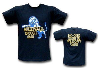 Millwall No One Likes Us T-Shirt