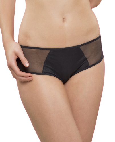 Passionata Damen Hipster Miss Joy-Shorty, Schwarz (Schwarz 11), 38