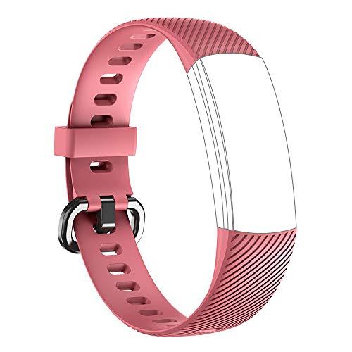 TOOBUR Ersatz-Riemen Armband für ID152 (Rosa)