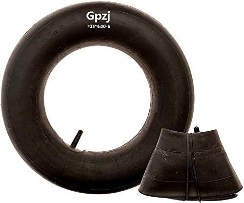 Gpzj 2er-Pack mit 4,10/3,50-4 'Premium-Ersatzreifen-Innenschläuchen - für Handwagen, Dollies, Schubkarren, Rasenmäher, Anhänger und mehr - Schlauch für 4,10 3,50-4/410 / 350-4-Räder