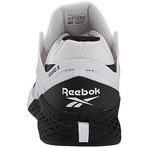 Reebok Men's Nano X Cross Trainer, White/Black, 9