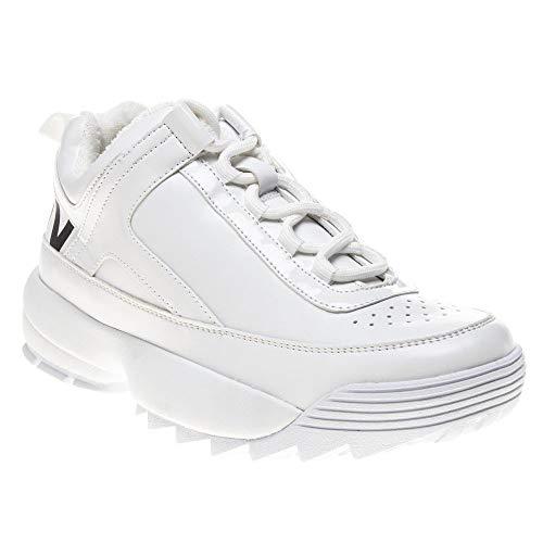 DKNY Dani Lace Up Damen Sneaker Weiß 39 EU