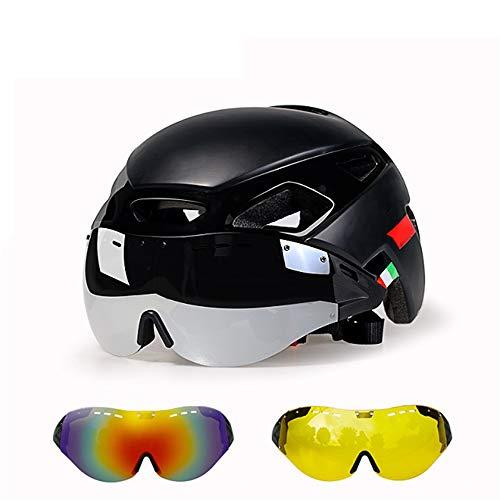 Helm ZWRY Fietsverlichting Helm Mtb Fietshelm Fietshelm Snelheid