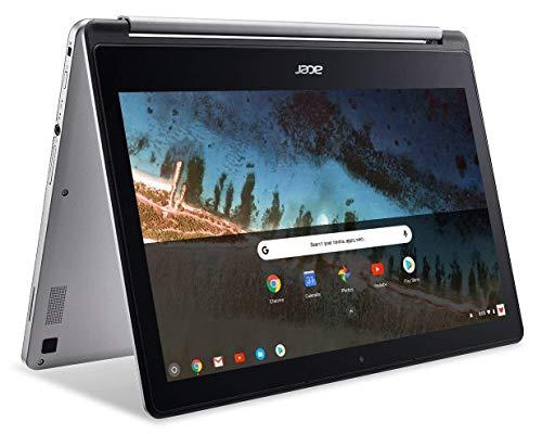Acer R13 13.3in Convertible 2-in-1 FHD IPS Touchscreen Chromebook - Intel Quad-Core MediaTek MT8173C 2.1GHz, 4GB RAM, 64GB SSD, Bluetooth, HDMI, Chrome OS (Renewed)