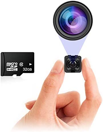 Small Hidden Mini Spy Camera Secret Tiny Spy Cam for Home or Car with Motion Detection Night product image