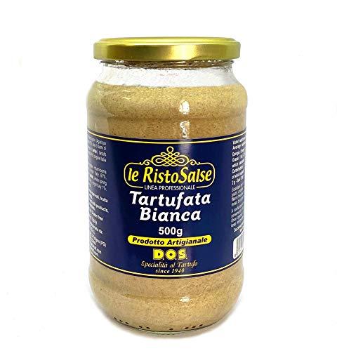 Salsa de Trufa Blanca 500g - Producto típico Italiano - Utilizada en Restaurantes y Chefs profesionales