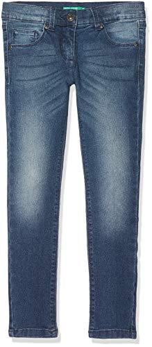 United Colors of Benetton Jeans Pantalones, Azul (BLU Scuro 911), 82 (Talla del Fabricante: 1Y) para Bebés