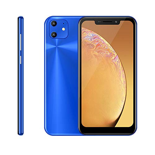 Unlocked Cell Phone, X20-Pro-Y Android Smartphone, 6.11-inch IPS Full-Screen, 3GWCDMA : 850/2100MHZ Carrers, 2GB RAM 16GB ROM,Dual SIM card,Front and rear cameras(blue)