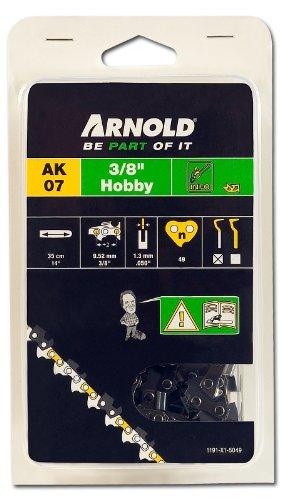 Arnold Sägekette 3/8 Zoll Hobby, 1.3 mm, 49 Treibglieder, 35 cm Schwert 1191-X1-5049