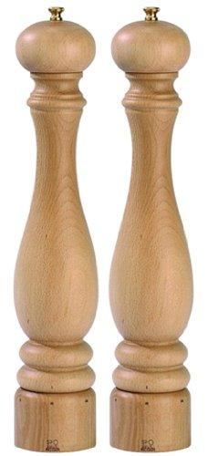 Set Paris pepermolen en zoutmolen Peugeot u select 40 cm natuur