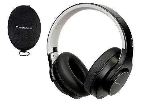 PowerLocus Cascos Bluetooth Inalámbrico, 30h duración de batería, Hi-Fi Sonido Estéreo, Auriculares Bluetooth de Diadema Inalambricos, Casco Plegable con Micrófono Manos Libres para Movil/TV/PC/iPad