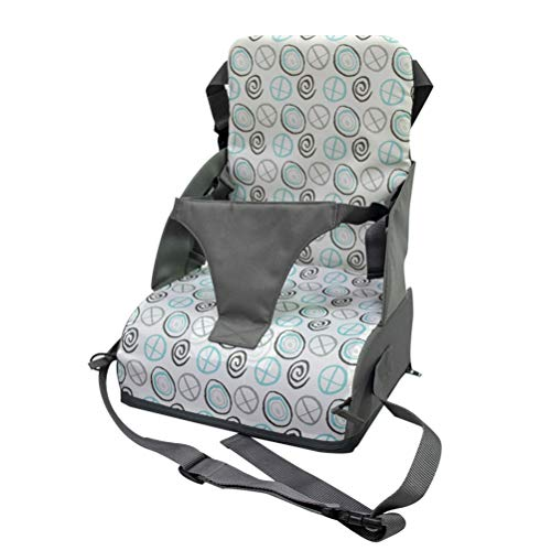 Kinder Sitzkissen Sitzerhöhung Stuhl, Fansu Baby Tragbar Sitzkissen Sicherheit Design Verstellbar Zerlegbar Kleinkinder Esszimmerstuhl ErhöHen Pad Esszimmer Boostersitze (Grün Philosoph,44x28x28cm)