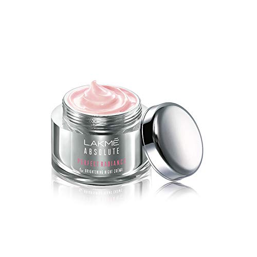 Lakmé Absolute Perfect Radiance Skin Lightening/ Brightening Night Crème (Cream), 50 g
