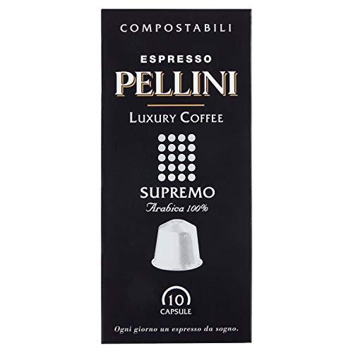 Pellini Luxury Caffè Supremo Arabica, 10 Capsule