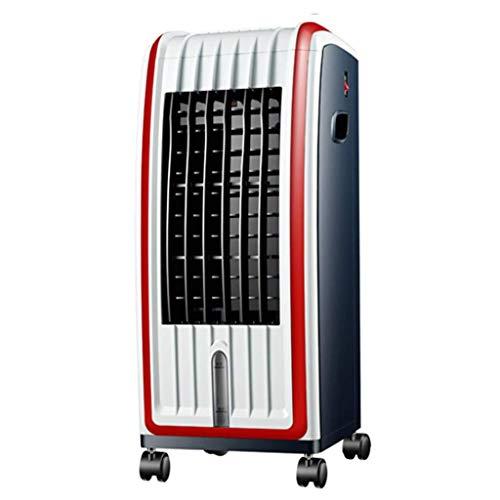 JHTD Acondicionador de Aire portátil, refrigerador de Aire móvil 4 en 1, Calentador, humidificador, purificador, Ventilador de refrigeración de Escritorio con 3 velocidades