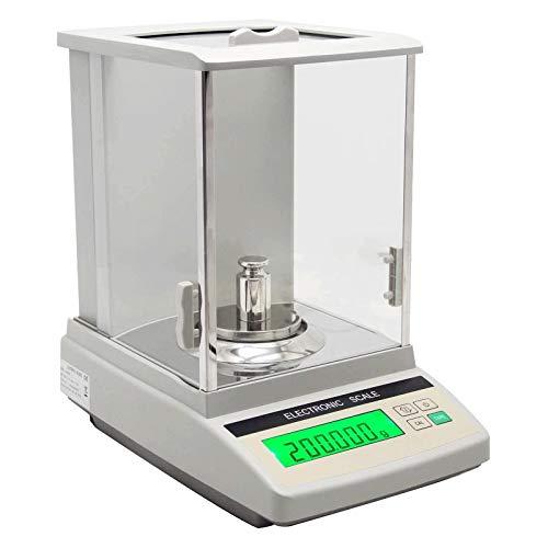 MTCWD Balanza Analítica de Balanza de Laboratorio Balanza Digital de Alta Precisión para la Escuela de Plantas Químicas 1 MG (Size : 320g/1mg)
