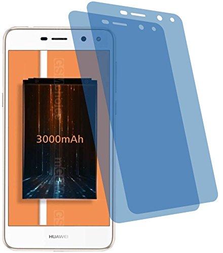4ProTec I 2X ANTIREFLEX matt Schutzfolie für Huawei Y5 2017 Premium Bildschirmschutzfolie Displayschutzfolie Schutzhülle Bildschirmschutz Bildschirmfolie Folie