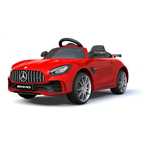 Mercedes Macchina Elettrica per Bambini 12V AMG GTR Rossa