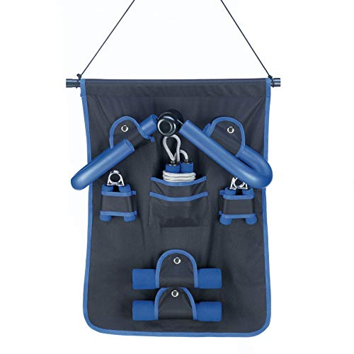 Fantastic Deal! wakatobi 6 Piece Family Fitness Set (Weights, Hand Grips, Jump Ropes, Thigh Exercise...