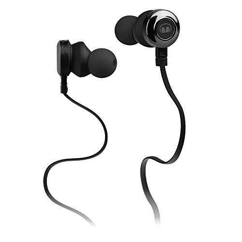 Monster Monster Clarity HD - Auriculares in-Ear, Color Negro